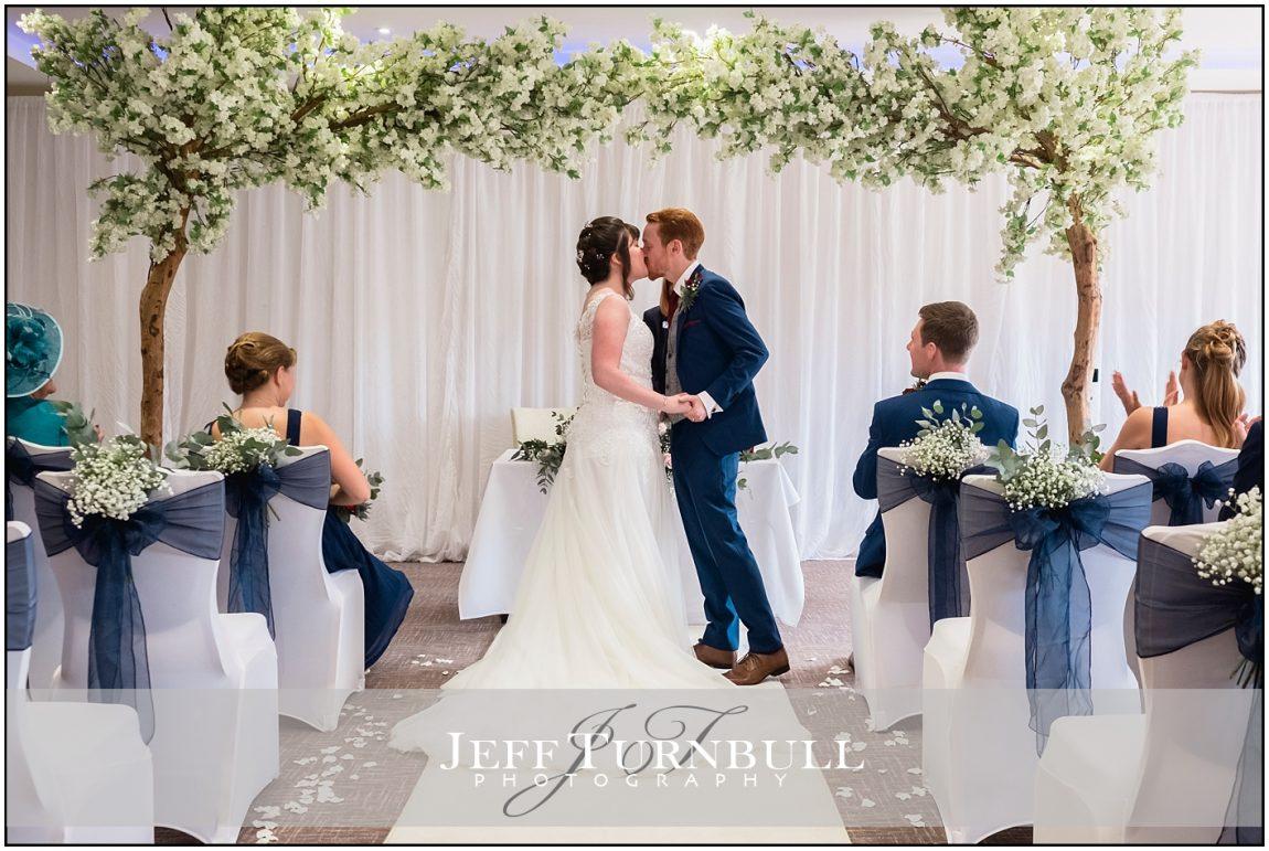 Wedding Ceremony at Stoke by Nayland