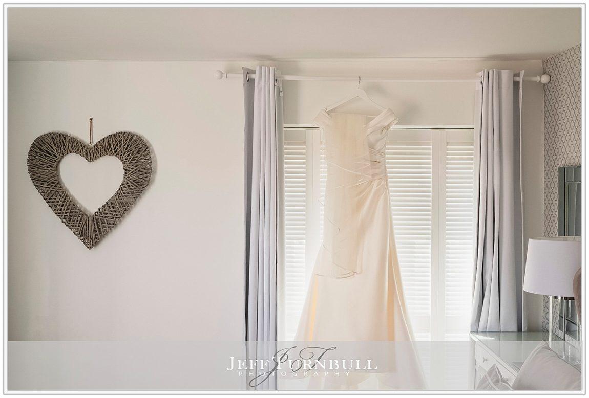 Wedding Dress in Bridal Cottage