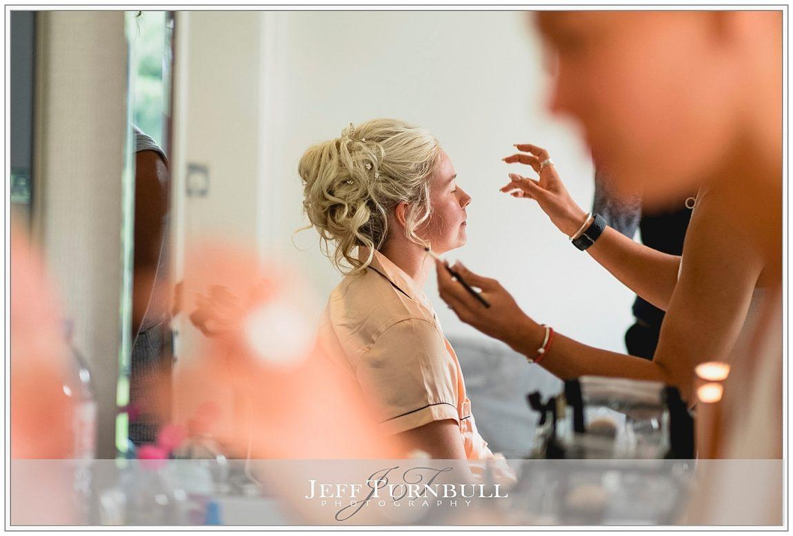 Bride Having Make Up