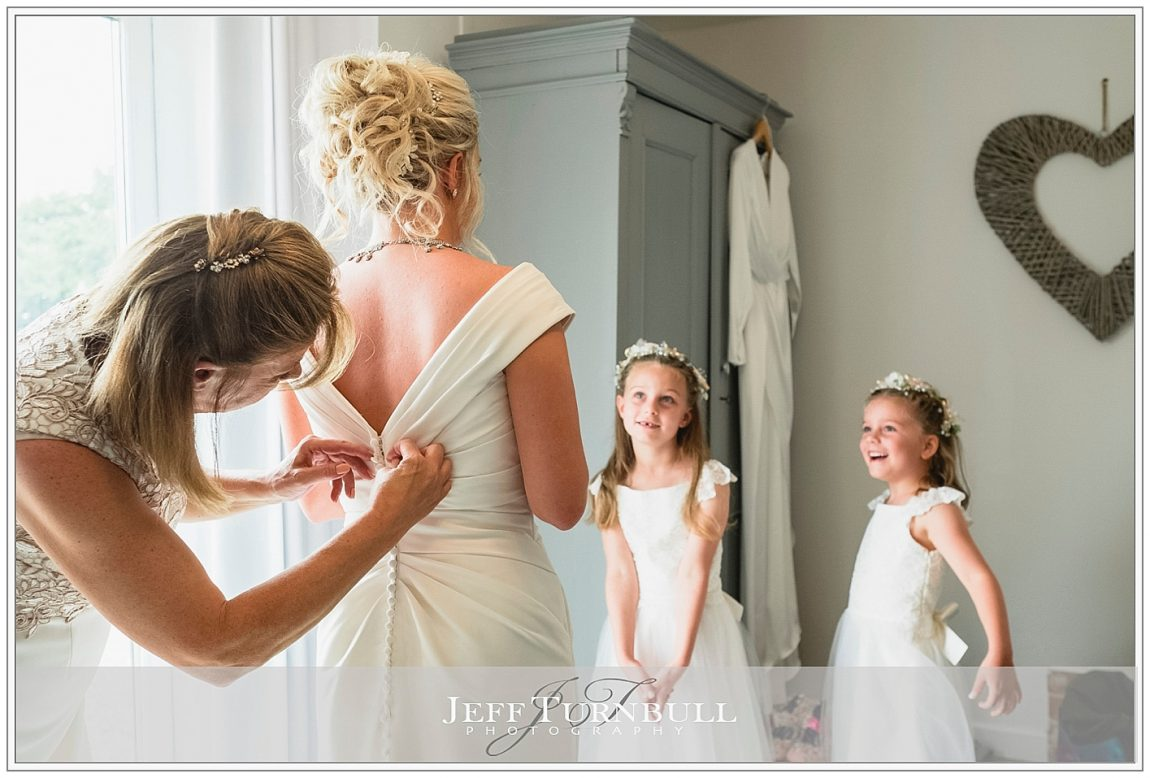 Flower Girls with the Bride